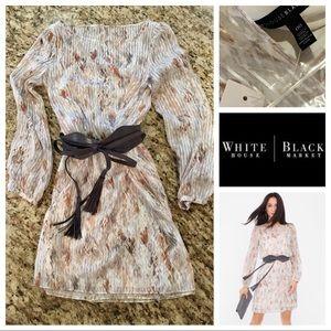 NWT WHBM Geo Print Boho Dress